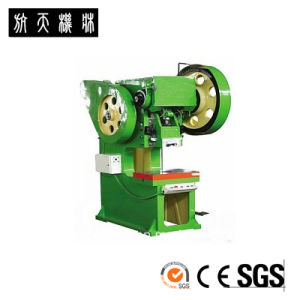 J23-125t Perforated Sheet Metal Punching machine pictures & photos