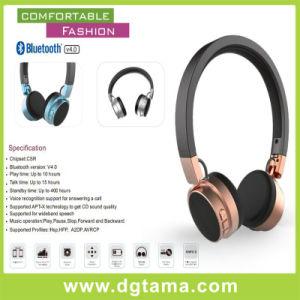 New Metal Head Overhead Wireless Bluetooth Headphones PC Computer Mobile pictures & photos