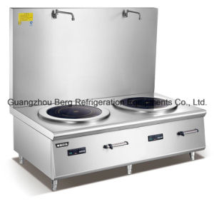 Single Wok Burn 20kw Commerical Induction Work Cooker for Hotel Restaurant pictures & photos