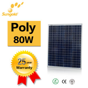 Poly Solar Panel 80W Own Factory Power System pictures & photos