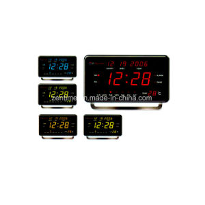 Decorative LED Digital Calendar and Temperature Gift Clock pictures & photos