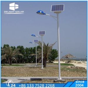 Double Arm 3 Backup Rainy Days Battery Buried Solar Lamp pictures & photos