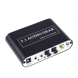 5.1 Digital to Analog Audio Decoder pictures & photos