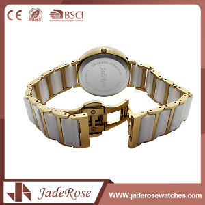 Waterproof Stainless Steel Classic Quartz Watch with Mineral Glass pictures & photos