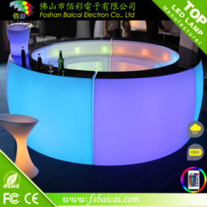 Wedding Dress Online Shop LED Plastic Portable Bar Counter Furniture pictures & photos