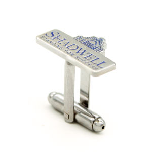 Wholesale Customized Hard Enamel Metal Cufflink pictures & photos