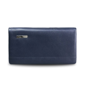 Men′s Long Wallet Genuine Leather Men Business Clutch Bag pictures & photos