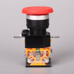 22mm La118m Series Mushroom Push Button Switch pictures & photos