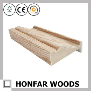 Oak Veneer Wood Door Frame Moulding for Home Decor pictures & photos