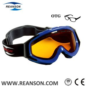 Unisex Over The Glasses Anti-Fog Skiing Goggles pictures & photos