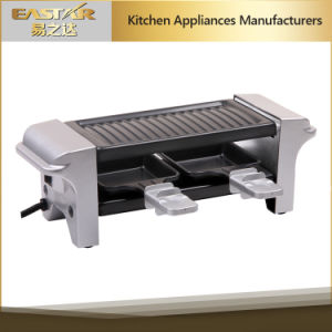 Mini Raclette Grill 350W BBQ Barbecue pictures & photos
