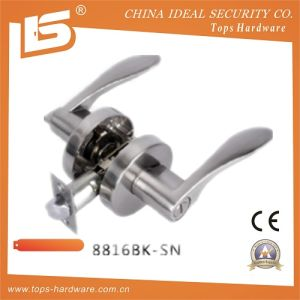 Heavy Duty Zinc Alloy Door Handle Lock (8816BK SN) pictures & photos