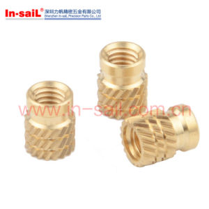 M6 Brass Insert Nut for ABS China Fastener Supplier pictures & photos