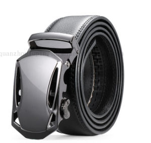 Custom Buckles Fashion Men Genuine Leather Belt for Prmotion pictures & photos