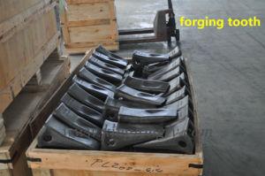 Komatsu Excavator Bucket Teeth Forging Not Casting for Mining Equipment pictures & photos