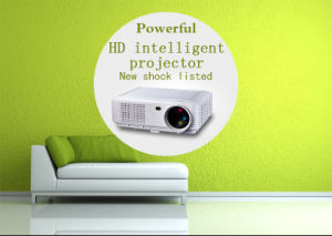 Home Theater Cinema WiFi LED DLP Android 5.1 Projector with WiFi pictures & photos