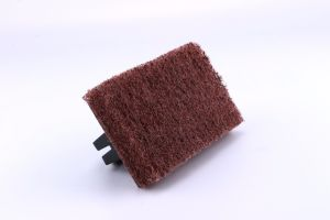 New Design High Standard ODM Sponge Scourer Pad Brush pictures & photos