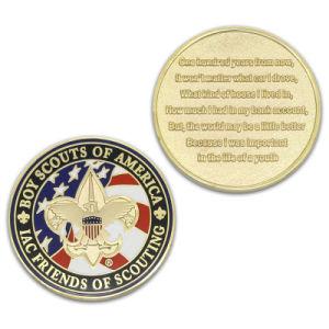 High Quality Cheap Metal Enamel Souvenir Coin pictures & photos