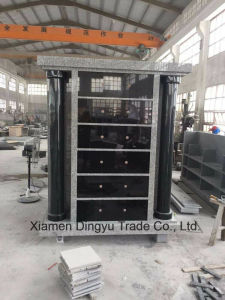 ODM Grey Granite Stone Niches Cremation Cemetery Columbariums for Urn pictures & photos