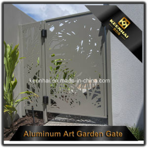Decorative Laser Cut Metal Garden Gate pictures & photos