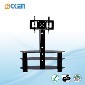 Wholesale Cheap Made in China Furniture Glass and Metal MDF Corner LCD LED Modern TV Stand pictures & photos