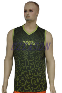 Customized Sublimation Men′s Bodybuilding Dri Fit Gym Tank Top (SL007) pictures & photos