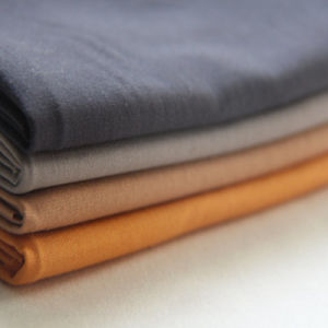 100% Cotton Plain Linen Like Fabric