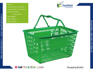 Retail Grocery Store Carry Shopping Baskets with Customizing Logo pictures & photos