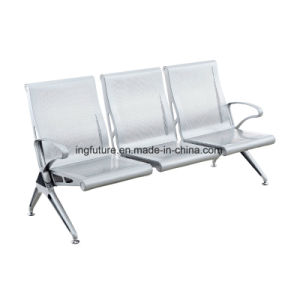 3-Seat Stainless Steel Air Port Chair with Ergonomic Back pictures & photos