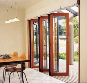 Aluminum Bi Folding Patio Doors with American Standard and Australian Standard pictures & photos
