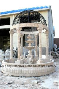 Marble Gazebo Fountain pictures & photos