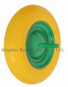 Rubber Wheel (PU wheel) for Wheel Barrow pictures & photos