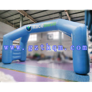 Round Shape Inflatable Archway/Blue Inflatable Arch for Advertisement pictures & photos