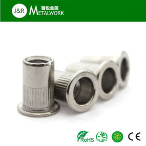 A2 A4 Ss304 Ss316 Stainless Steel Knurled Flat Head / Countersunk Head / Hex Head Rivet Nut pictures & photos