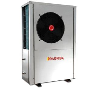 Evi Air-Cooled Chiller for Low Temperature Regions with High C