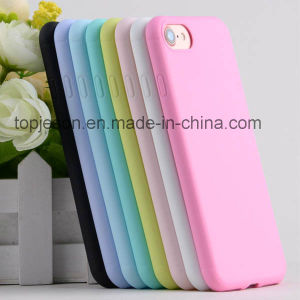 Candy Colors Matte Ultra Thin Soft Phone Case for iPhone 7/7 Plus pictures & photos