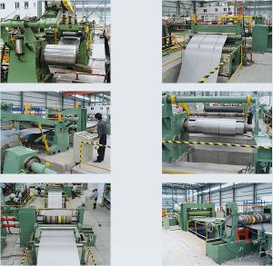 Cutting to Length Cold Steel Coil to Sheets Machine pictures & photos