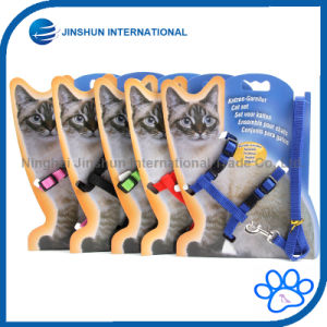 Cat Adjustable Nylon Leash Chest Straps Chain Traction Thoracic Dorsal Rope Leash pictures & photos