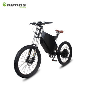 High Performance Top Selling Model AMS-Tde-05 Mountain Electric Bike E Bicycle with Full Suspension in High Speed for Sale pictures & photos