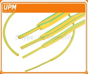 3: 1 Green/Yellow Stripped Color Heat Shrink Sleeve for Wire/Cable Marks pictures & photos
