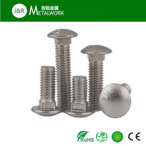 Stainless Steel Mushroom Round Head Square Neck Carriage Bolt (DIN603) pictures & photos