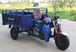 Hydralic Dump 3 Wheel Motorcycle Cargo Tricycle pictures & photos