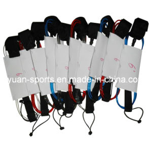 Customized 5.5 7 8mm 6 10 12 Surfboard Stand up Paddle Sup Surf Leash pictures & photos