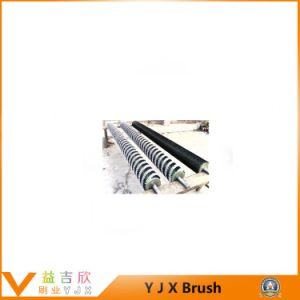 Cement Plant Clinker Roller Brush Cleaner, Coal Scraper Conveyor Sweepers Brush Roller pictures & photos