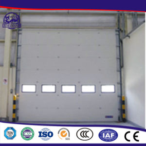 High Density Foam PU Panel Electric Sectional Doors pictures & photos