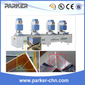 PVC Window Making Machine Colored UPVC Plastic Profile Seamless Welding Machine pictures & photos