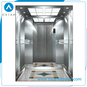 Safe and Smooth Mrl Passenger Lift with Hairline S. S Cabin pictures & photos