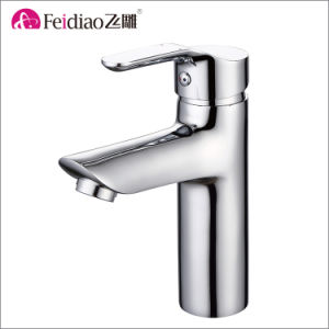 Hot Selling Cheap Price Brass Single Handle Basin Faucet pictures & photos