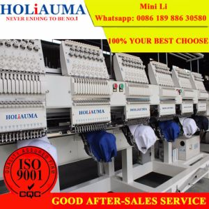 New Embroidery Machine Specifications Work Faster, 6 Heads 15 Colors, Cap/T-Shirt/Flat/3D and More pictures & photos