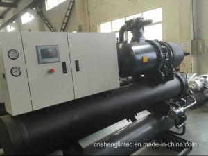 Industrial Low Temperature Water Cooled Screw Chiller pictures & photos